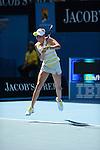 Donna Vekic (CRO) loses at Australian Open in Melbourne Australia on 17th January 2013