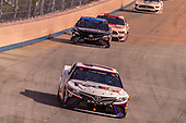 #11: Denny Hamlin, Joe Gibbs Racing, Toyota Camry FedEx Office, #19: Martin Truex Jr., Joe Gibbs Racing, Toyota Camry SiriusXM
