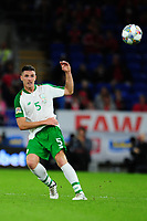 Ciaran Clark of Republic of Ireland during the UEFA Nations League B match between Wales and Ireland at Cardiff City Stadium in Cardiff, Wales, UK.September 6, 2018