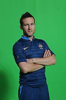 Yohan Cabaye .29/5/2012 .Calcio Foto Ufficiali Francia Euro2012.Foto Insidefoto / Anthony Bibard / FEP/ Panoramic ITALY ONLY