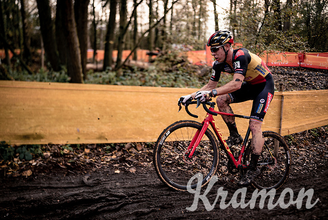 Belgian National Champion Laurens Sweeck (BEL/Pauwels Sauzen-Bingoal)<br /> <br /> Jaarmarktcross Niel (BEL) 2020<br /> Men's Race<br /> <br /> ©kramon