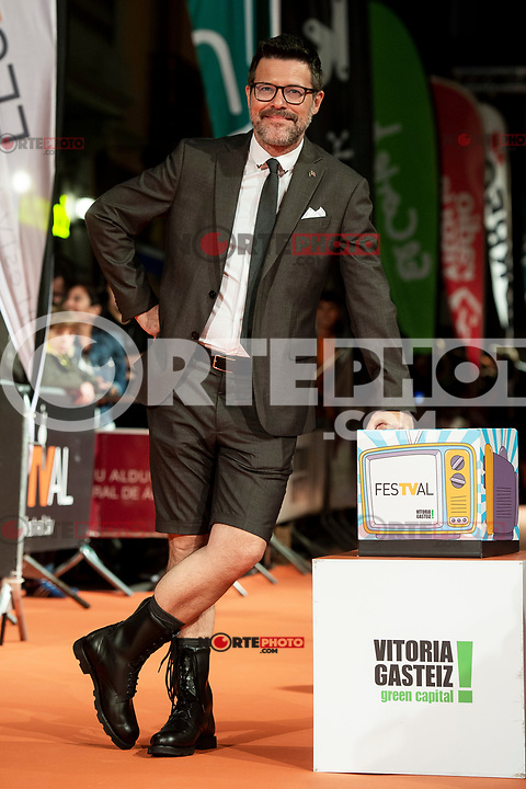 Queque attends to orange carpet of new comedian schedule of #0 during FestVal in Vitoria, Spain. September 06, 2018. (ALTERPHOTOS/Borja B.Hojas) /NortePhoto.com NORTEPHOTOMEXICO
