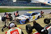#95: Matt DiBenedetto, Leavine Family Racing, Toyota Camry Digital Momentum / Hubspot makes a pit stop