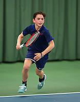 Rotterdam, The Netherlands, March 11, 2016,  TV Victoria, , NOJK 12/16 years, Steffan van Weldam <br /> Photo: Tennisimages/Henk Koster