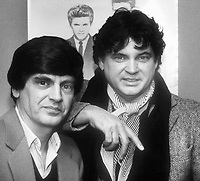 Everly Brothers Phil Everly Don Everly 1983<br /> Photo By Adam Scull/PHOTOlink.net