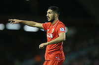 Liverpool's Emre Can during the Barclays Premier League match between Liverpool and Swansea City played at The Anfield Stadium on November 29th 2015