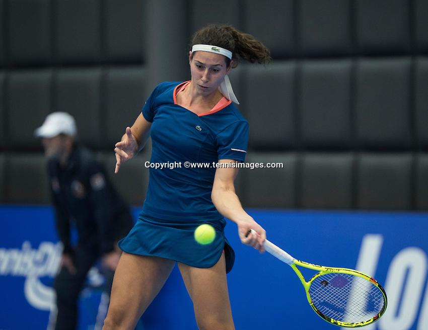 Rotterdam, Netherlands, December 15, 2016, Topsportcentrum, Lotto NK Tennis,  Rosalie van de Hoek (NED) <br /> Photo: Tennisimages/Henk Koster