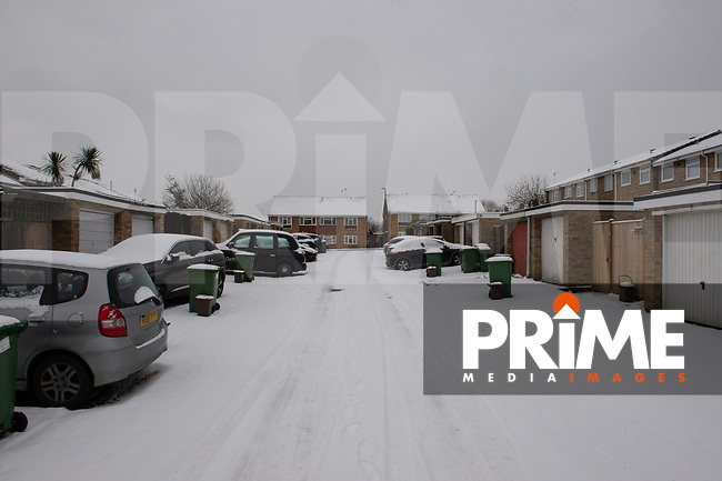 More overnight snowfall in Sidcup, Kent, England on the 9 February 2021. Photo by Alan Stanford.