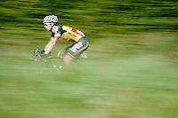 belgian champion Jens Debusschere (BEL/Lotto-Belisol) speeding along<br /> <br /> stage 2<br /> Euro Metropole Tour 2014 (former Franco-Belge)