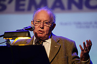Bernard Landry on   November 25,2012.<br /> <br /> File Photo : Agence Quebec Presse