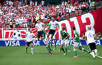 Clint Dempsey, Brad Evans.  The USMNT defeated Germany, 4-3, in a friendly match held at RFK Stadium in Washington, DC.