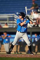 Hudson Valley Renegades right fielder Ryan Boldt (20) at bat during a game against the Batavia Muckdogs on August 2, 2016 at Dwyer Stadium in Batavia, New York.  Batavia defeated Hudson Valley 2-1.  (Mike Janes/Four Seam Images)