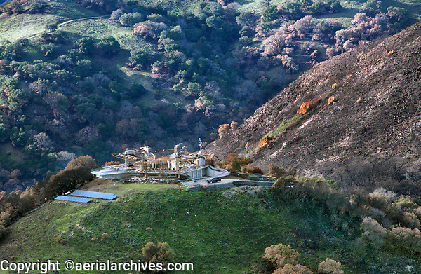 The Glass House, Fairfield, CA was destroyed by the Atlas Fire, California, northern California wildfires, 2017.