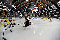10 January 2009: University of Vermont Catamount forward Peter Lenes, a Senior from Shelburne, VT, in action against the Boston College Eagles in the second game of a weekend series at Gutterson Fieldhouse in Burlington, Vermont. The Catamounts rallied from an early 2-0 deficit to defeat the visiting Eagles 4-2. Mandatory Photo Credit: Ed Wolfstein Photo