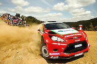Subhan Aska and Nicola Arena, Ford Fiesta RRC of BOSOWA RALLY TEAM during WRC Vodafone Rally de Portugal 2013, in Algarve, Portugal on April 12, 2013 (Photo Credits: Paulo Oliveira/DPI/NortePhoto)