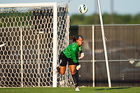 Sky Blue FC goalkeeper Brittany Cameron (1). The Western New York Flash defeated Sky Blue FC 3-0 during a National Women's Soccer League (NWSL) match at Yurcak Field in Piscataway, NJ, on June 8, 2013.