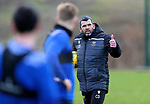 St Johnstone Training…. 09.12.20<br />Manager Callum Davidson pictured during training ahead of Saturdays home game against Livingston.<br />Picture by Graeme Hart.<br />Copyright Perthshire Picture Agency<br />Tel: 01738 623350  Mobile: 07990 594431