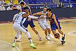 League ACB-ENDESA 2020/2021 - Game: 1.<br /> Barça vs Hereda San Pablo Burgos: 89-86.<br /> Jasiel Rivero vs Leandro Bolmaro.