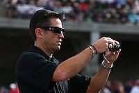 Jul. 19, 2013; Morrison, CO, USA: NHRA top fuel dragster driver Larry Dixon during qualifying for the Mile High Nationals at Bandimere Speedway. Mandatory Credit: Mark J. Rebilas-