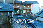 The scene of a fatal accident at a building site in Ashe Street, Tralee on Saturday.
