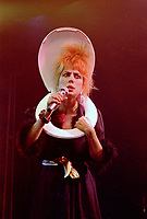 Montreal - Canada - File Photo - Marc Drouin et les Echalottes perform their show VIS TA VINAIGRETTE at the Spectrum, September 29, 1987.<br /> <br /> <br /> Photo by Denis Alix - Agence Quebec Presse
