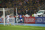Laos vs Malaysia during the AFF Suzuki Cup 2012 Group B match on November 28, 2012 at the Bukit Jalil National Stadium in Kuala Lumpur, Malaysia. Photo by World Sport Group