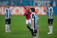 4th July 2021; Arena do Gremio, Porto Alegre, Brazil; Brazilian Serie A, Gremio versus Atletico Goianiense; Walter Kannemann of Grêmio frustrated by the goal scored by Lucão of Atletico Goianiense in the 55th minute 0-1