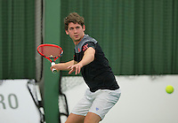 Rotterdam, Netherlands, Januari 24, 2016,  ABNAMROWTT Supermatch, Tom Smit (NED)<br /> Photo: Tennisimages/Henk Koster