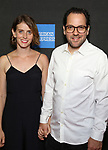"Amy Herzog and Sam Gold attend the Broadway Opening Night performance of ""Sea Wall / A Life"" at the Hudson Theatre on August 08, 2019 in New York City."