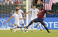 Philadelphia, PA - Wednesday July 19, 2017: Bryan Tamacas, Jozy Altidore  during a 2017 Gold Cup match between the men's national teams of the United States (USA) and El Salvador (SLV) at Lincoln Financial Field.