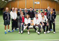 21-03-13,Almere, Tennis, New clothing for technical staff KNLTB