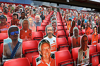 Charlton's pop up fans behind the goal during Charlton Athletic vs Reading, Sky Bet EFL Championship Football at The Valley on 11th July 2020