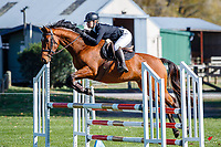 NZL-Mikayla Herbert rides Meersbrooke Big Ears. Class 24: Horse 1.00m Ranking Class. 2021 NZL-Easter Jumping Festival presented by McIntosh Global Equestrian and Equestrian Entries. NEC Taupo. Saturday 3 April. Copyright Photo: Libby Law Photography