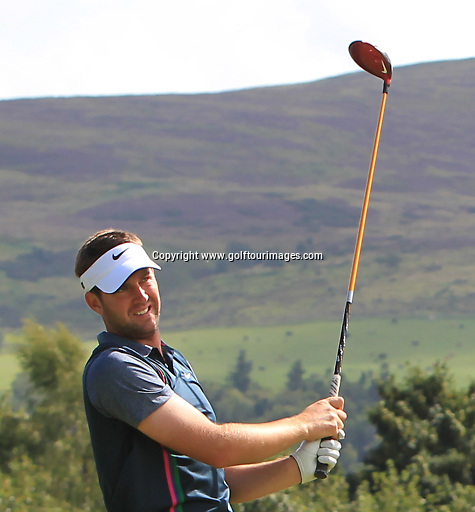 Scott JAMIESON (SCO) during the ProAm ahead of the 2013 Johnnie Walker Championship being played over the PGA Centenary Course, Gleneagles, Perthshire from 22nd to 25th August 2013: Picture Stuart Adams www.golftourimages.com: 21st August 2013