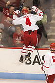 Brandon Hickey (BU - 4) - The Boston University Terriers tied the visiting Providence College Friars 2-2 on Saturday, December 3, 2016, at Agganis Arena in Boston, Massachusetts.