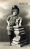 Jonny, CHILDREN, nostalgic, paintings(GBJJ53,#K#) Kinder, niños, nostalgisch, nostálgico