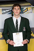 Boys Basketball winner Robert Loe from Westlake Boys High School. ASB College Sport Young Sportperson of the Year Awards 2008 held at Eden Park, Auckland, on Thursday November 13th, 2008.