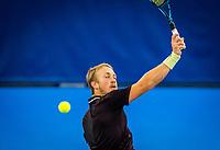 Amstelveen, Netherlands, 18  December, 2020, National Tennis Center, NTC, NK Indoor, National  Indoor Tennis Championships,   :  Jelle Sels (NED) <br /> Photo: Henk Koster/tennisimages.com