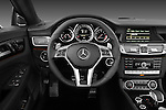 Steering wheel photo of a 2013 Mercedes CLS Class AMG sedan