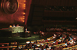 United Nations Organization UNO UN is an international organization facilitating cooperation in international law international security economic development social progress human rights and word peace founded in 1945,