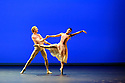 """London, UK. 11.09.2018. Natalia Osipova presents PURE DANCE at Sadler's Wells. Ballerina, Natalia Osipova, curates a programme of dance works, spanning classical to contemporary. Piece shows is """"The Leaves Are Fading"""", choreographed by Antony Tudor. The dancers are Natalia Osipova herself, and David Hallberg. Photograph © Jane Hobson."""