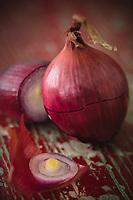 Gastronomie  Générale : Oignon Rouge Bio // General Gastronomy: Organic Red Onion