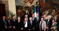 20131014 ROMA-CRONACA: LETTA INCONTRA LA COMUNITA' EBRAICA ROMANA