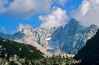 Julian Alps in Triglav National Park, above Pisnica Valley near Vrsic Pass, Kranjska Gora, Slovenia, AGPix_0550.