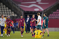 KASHIMA, JAPAN - AUGUST 5: Carli Lloyd #10 of the United States after a game between Australia and USWNT at Kashima Soccer Stadium on August 5, 2021 in Kashima, Japan.