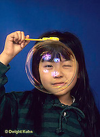 BH22-025x  Bubbles - girl making bubbles
