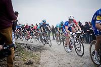 Arnaud Démare (FRA/Groupama - FDJ)<br /> <br /> 117th Paris-Roubaix 2019 (1.UWT)<br /> One day race from Compiègne to Roubaix (FRA/257km)<br /> <br /> ©kramon