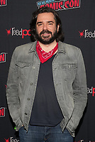 """NEW YORK CITY - OCTOBER 10: Matt Berry attends a 2021 New York Comic Con event for FX's """"What We Do In The Shadows"""" at the Javits Center on October 10, 2021 in New York City.  (Photo by Ben Hider/FX//PictureGroup)"""