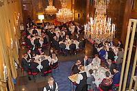 Februari 04, 2015, Apeldoorn, Omnisport, Fed Cup, Netherlands-Slovakia, Official Diner in Het Loo palace, <br /> Photo: Tennisimages/Henk Koster