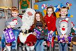 The McGill's, Odhran, Sarahlilly, Tiarnagh & Darragh visiting Santa on Saturday in Cahersiveen.